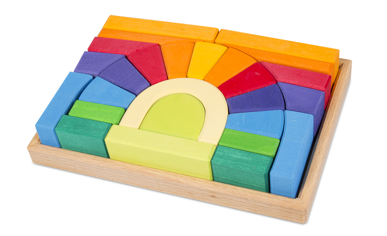 Montessori Bridge Blocks