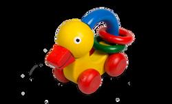 Montessori Duck Rattle