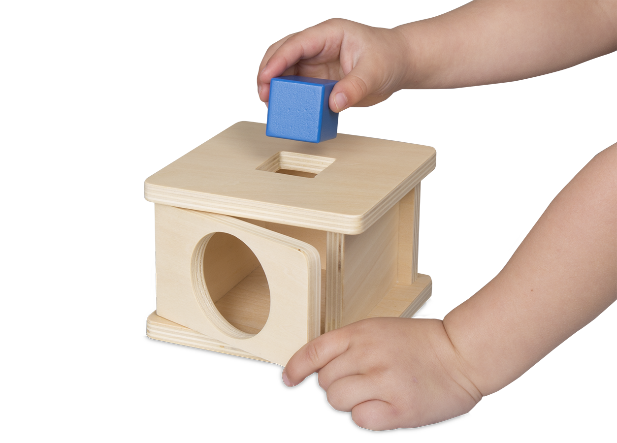 Montessori sorting box_hand