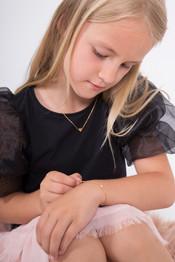Jewellery on child