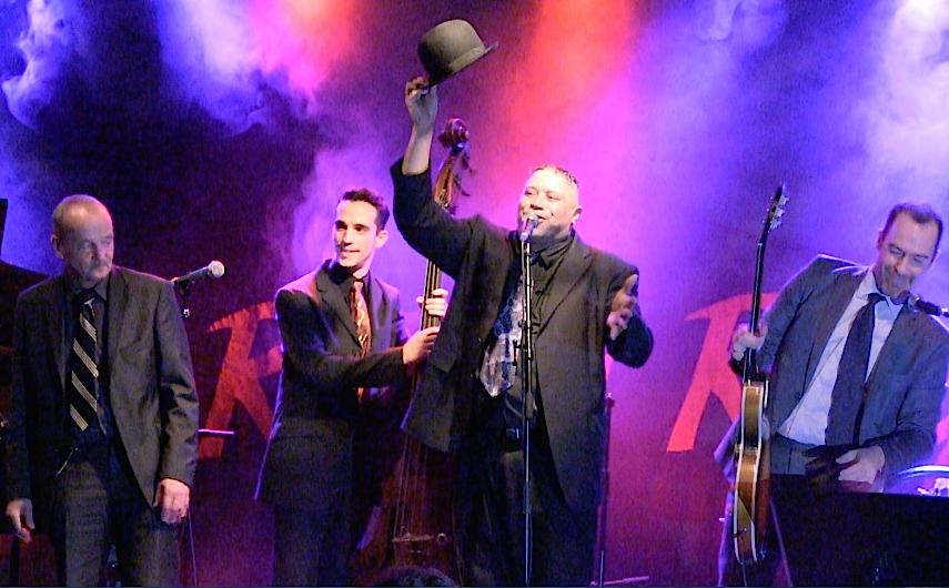 Bruce Ellison & Jellodies au Rideau Rouge à Lasne