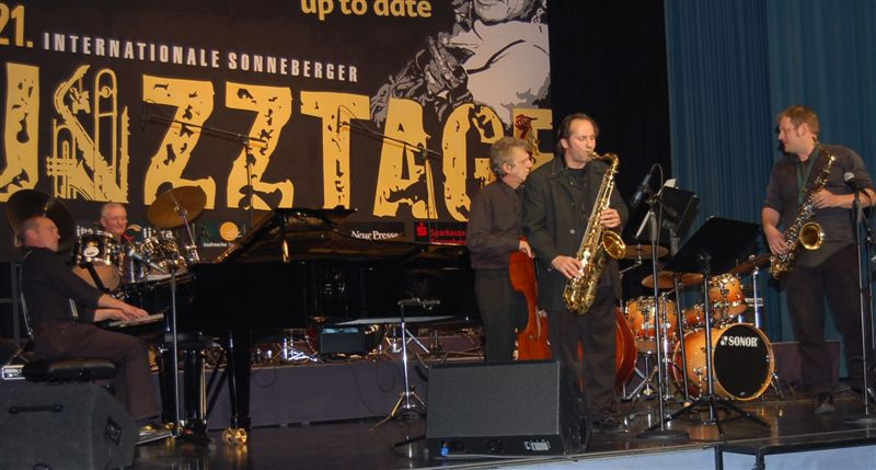 Bab's All Stars at Sonneberg Jazz Festival