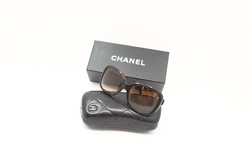Chanel Sunglasses Ribbon Brown Lens