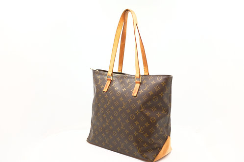 Louis Vuitton Cabas Mezzo Monogram Canvas Shoulder Bag
