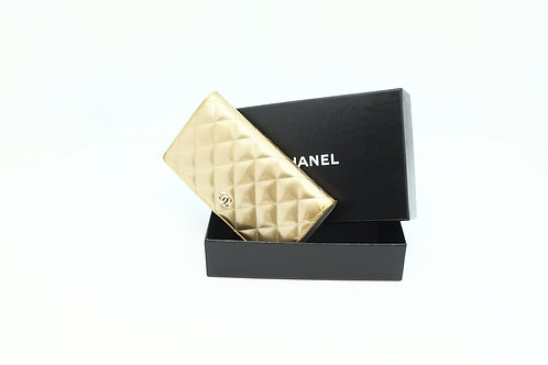 Chanel Matelasse long Wallet