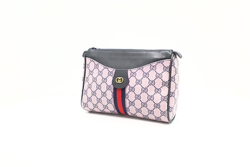 Gucci Clutch / Pouch Pink Old Gucci Sherry Line