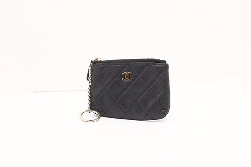 Chanel Matelasse Coin / Key Case Black