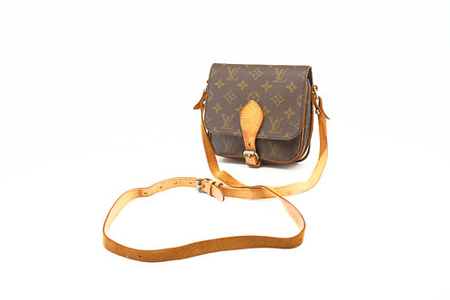 Louis Vuitton Cartouchiere PM in Monogram Canvas