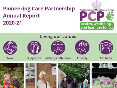 PCP AGM and Annual Report