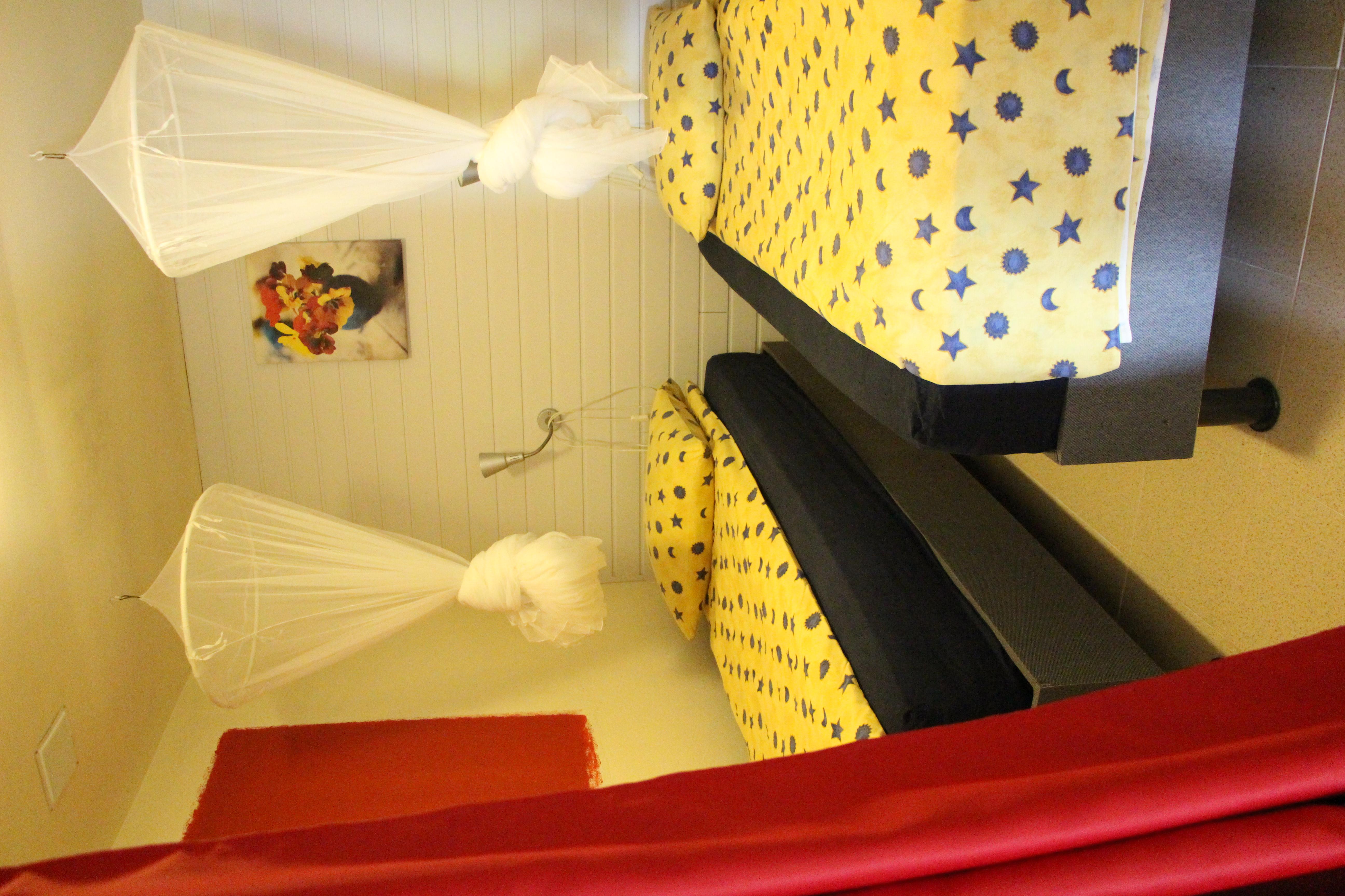 Chambre 2 lits 90 cms