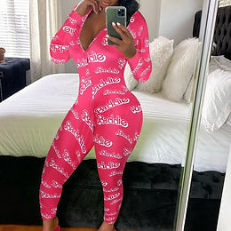 Sexy Onesie Pajamas Long Jumpsuit Sleepwear Long Romper Bodycon