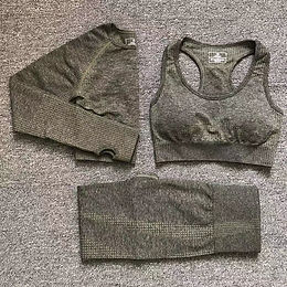 12 Colors Yoga Set Vital Fitness Sports Suit Women Seamless Leggings Sports Bra