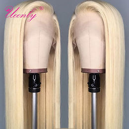 Blonde 13x4 Lace Front Human Hair Wigs 13x6 Brazilian Straight Human Hair Wigs T