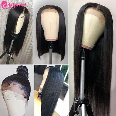 AliPearl Hair 13x4 Lace Front Human Hair Wigs for Black Women Brazilian Straight