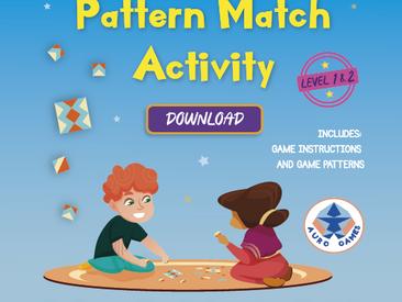 Level 1&2 Pattern Match Game