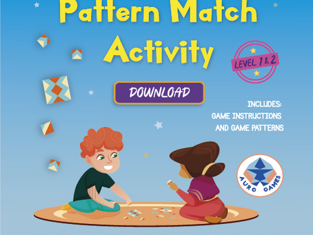 Level 1&2 Pattern Match Game