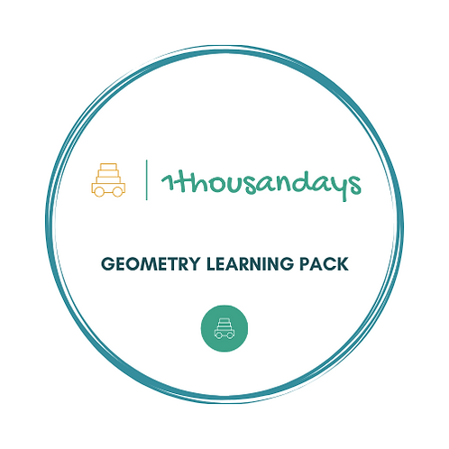 Geometry Learning Pack (suited for ages 3-5)