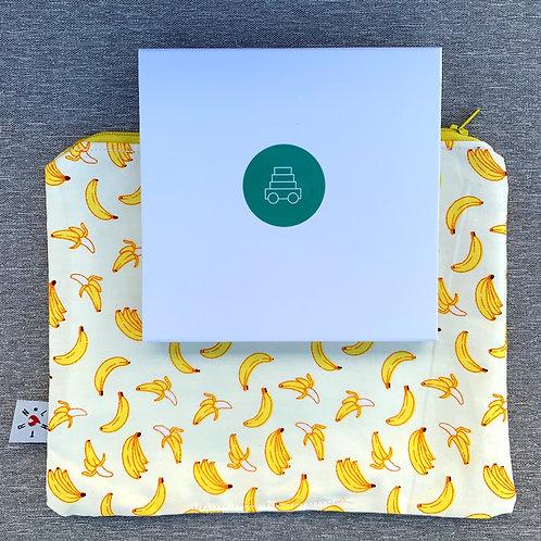 Banana zip pouch