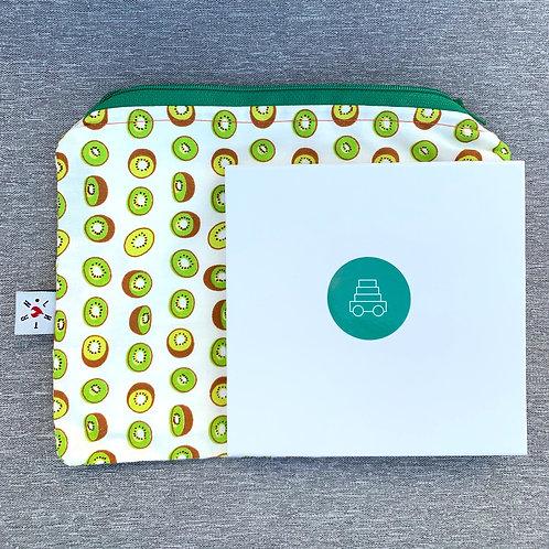 Kiwi zip pouch
