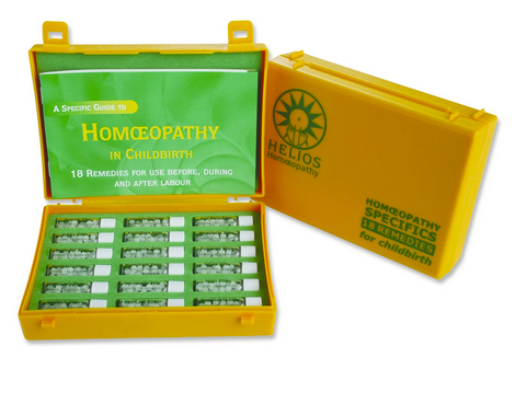 Childbirth Kit + Guide to Homeopathy for Childbirth