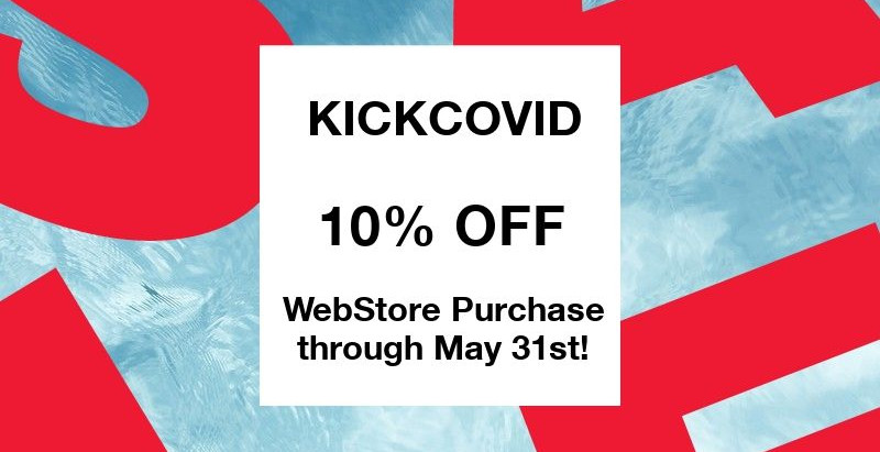 KICKCOVID through May 31st!