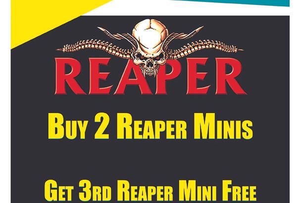 Buy 2 Get 1 FREE : Reaper Minis