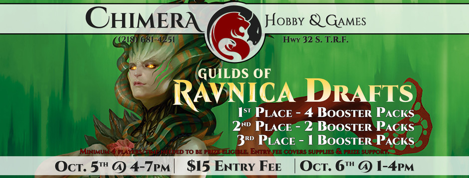 Guilds of Ravnica Drafts!