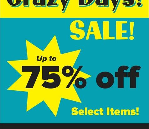 CRAZY DAYS!