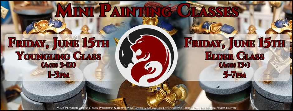Mini Painting Classes
