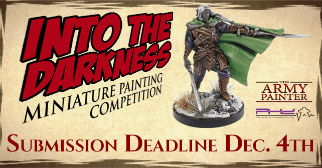 Into the Darkness Miniature Painting Competition!