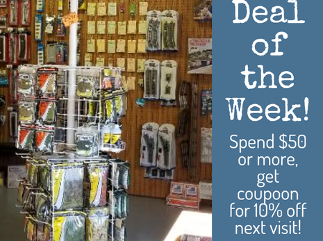 Deal of the Week! 9-5