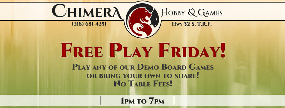 Free Play Friday! 9/28