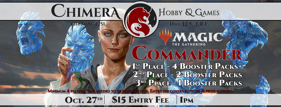 Commander Tournament Oct. 27th