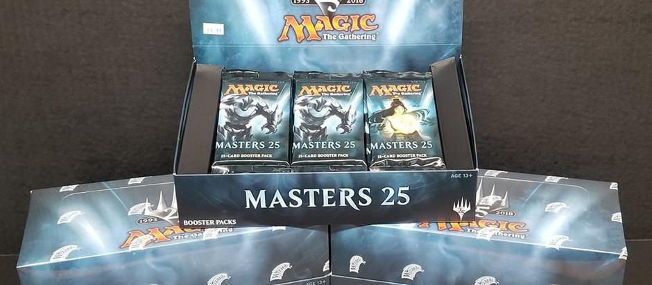 Masters 25 Restocked!