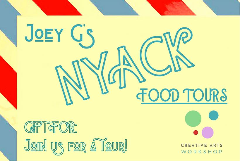 Joey G's Nyack Food Tour Gift Certificate