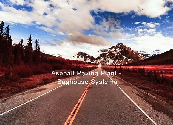 Asphalt Paving Plant - Baghouse Systems