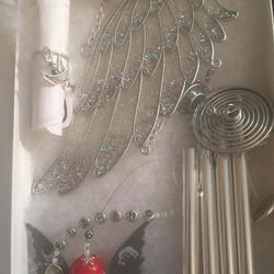Beautiful Angel Wing Chime