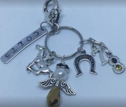 High School Key Mascot Key Chains