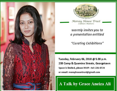 Curating Exhibitions: A presentation by Grace Aneiza Ali
