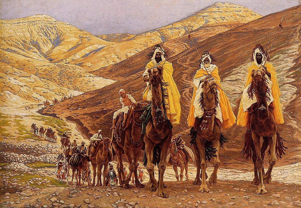 James Tissot, Journey of the Magi, oil on canvas, c. 1894