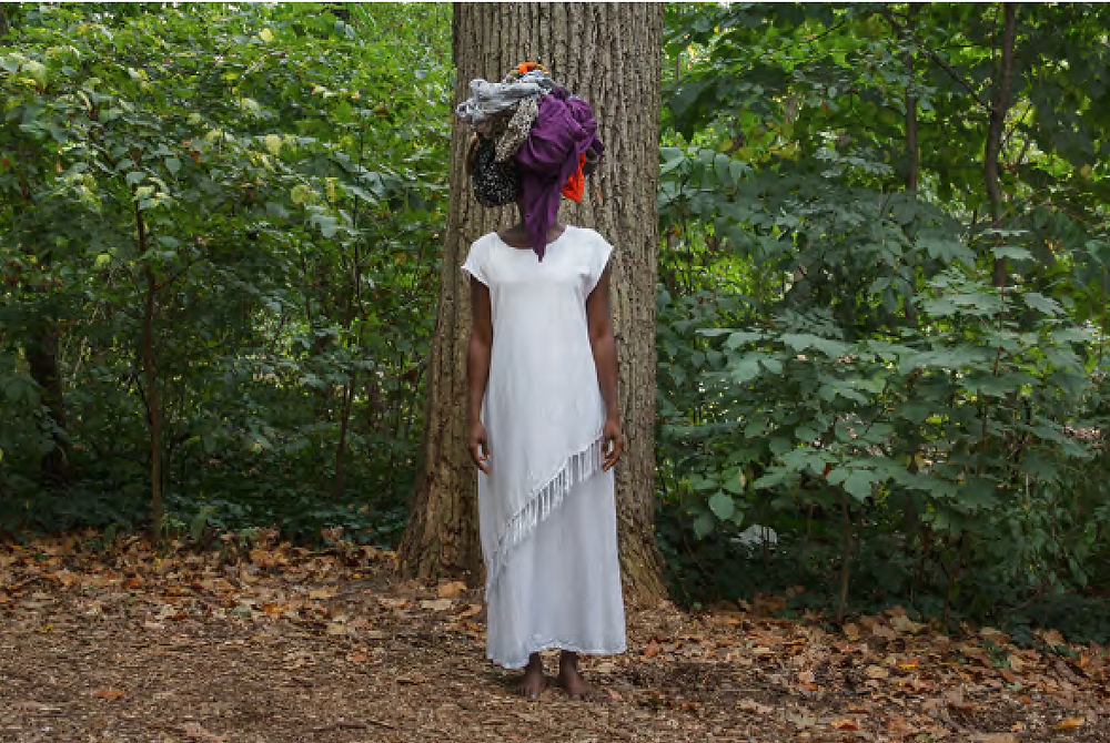 Keisha Scarville, Untitled #1, from the series, Mama's Clothes, 2015, archival digital print, 24 x 36 inches