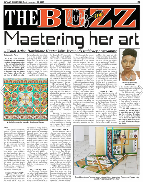 Guyana Chronicle feature