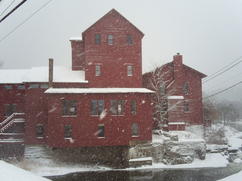 Notes from the Vermont Studio residency - A great way to start the year!