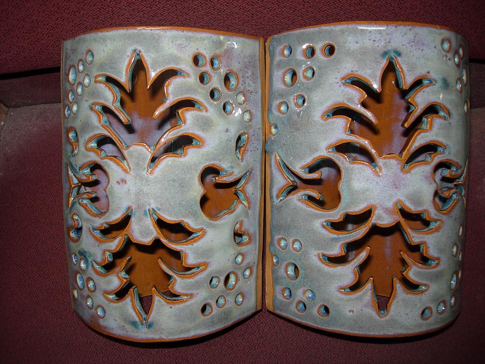 Ceramic light bulb covers