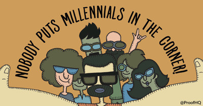 Engaging with creative millennials