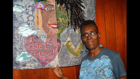 A closer look at Jennifer Gibson's textile art