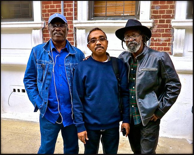From left to right: Dudley Charles, Carl Anderson and Carl Hazlewood