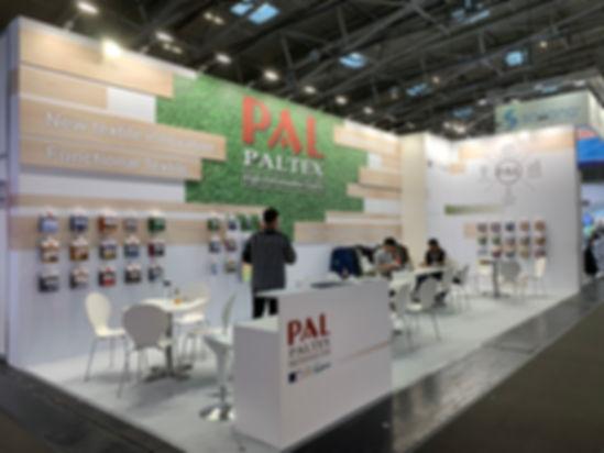 PALTEX 2020 ISPO Munich booth