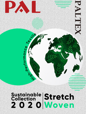 Sustainable Textile Collection - Recycled nylon stretch woven
