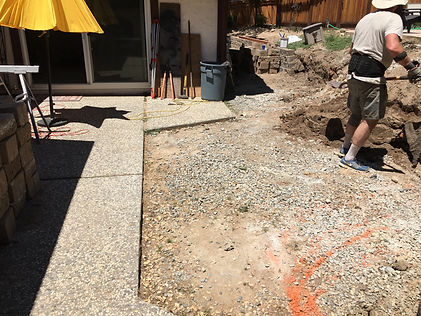Another Sacramento Junk Removal job by M&D Hauling. This is a patio removal project (after)